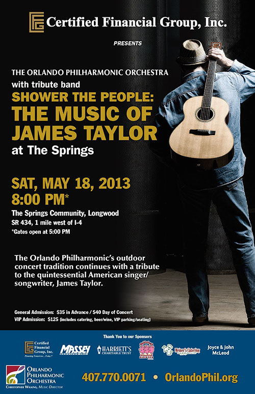 2013 Springs Concert Sponsored By Certified Financial Group