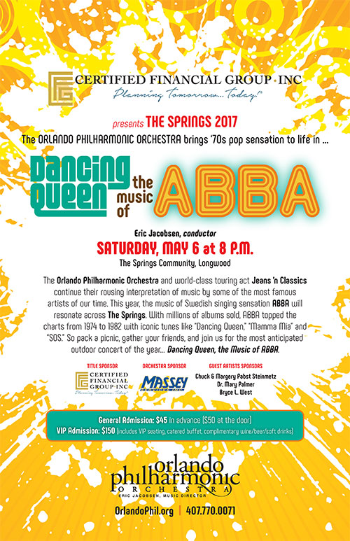 2017 Springs Concert Sponsored By Certified Financial Group