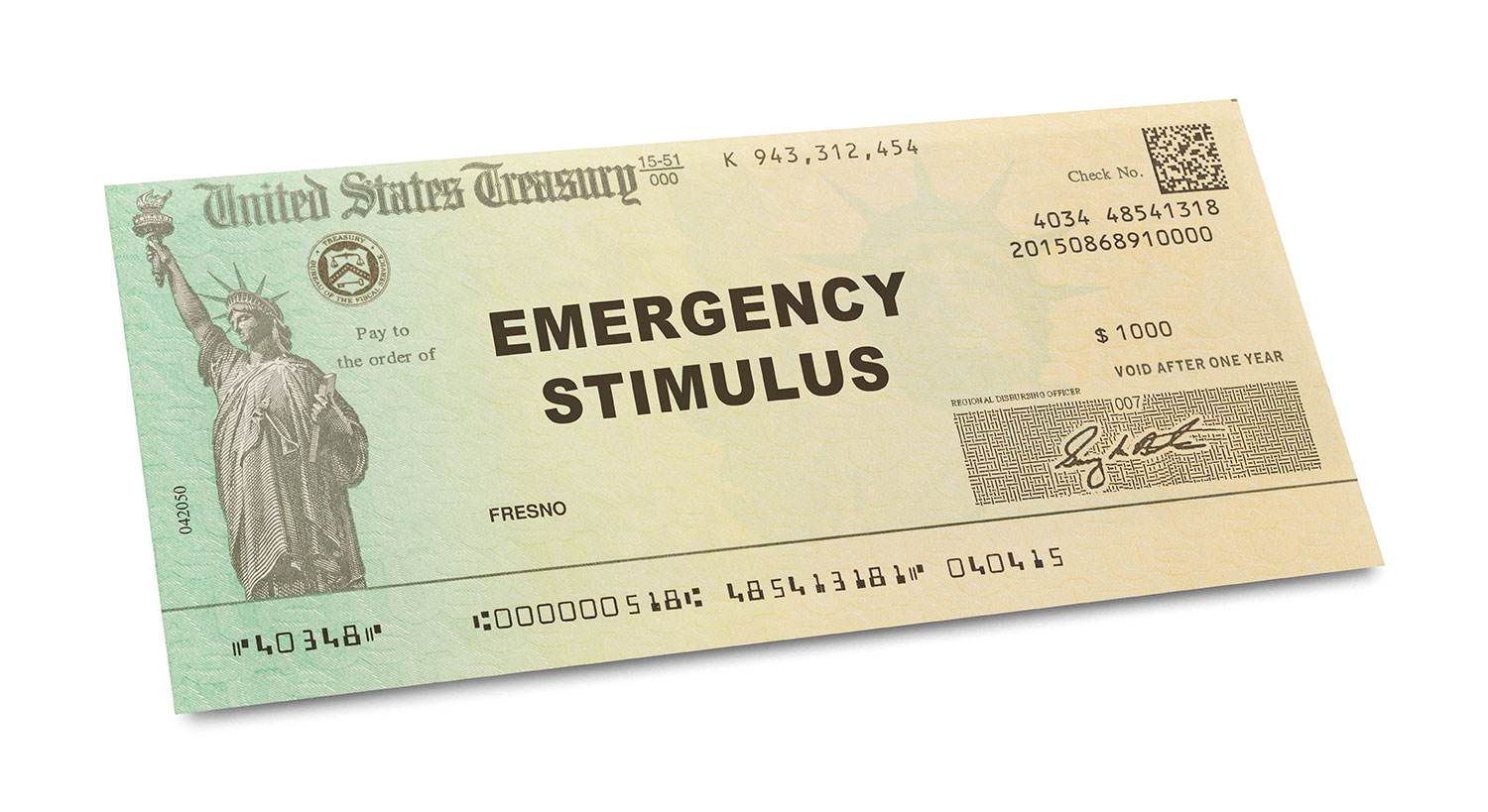 Stimulus Financial Planning