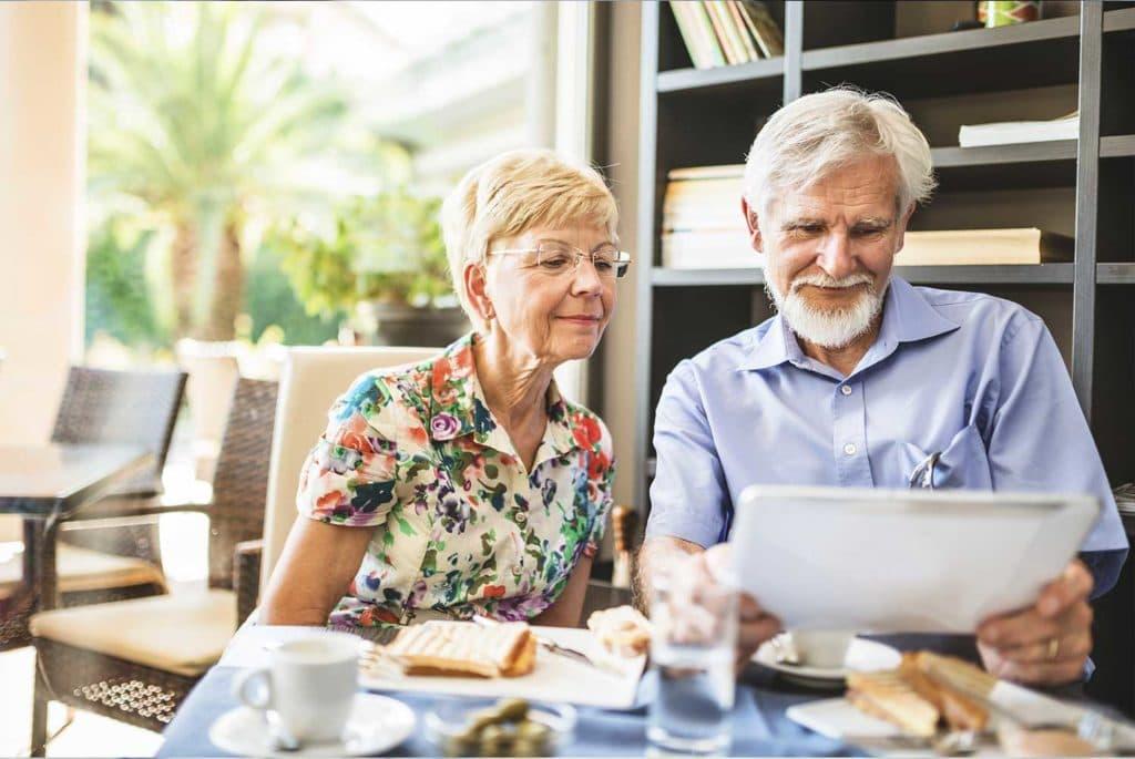 A couple retirement planning